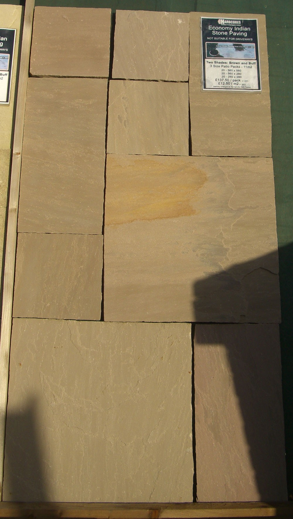 Hardlite - Indian Sandstone Paving - Autumn Blend