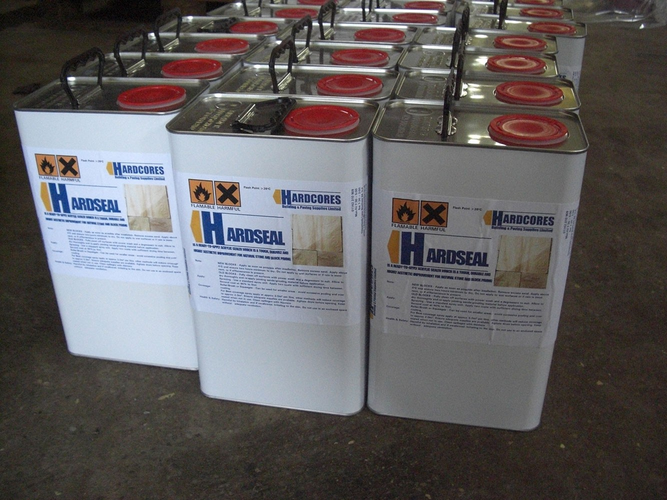 Hardcores Hardseal - Wetlook Natural, Concrete and Block Paving Sealer