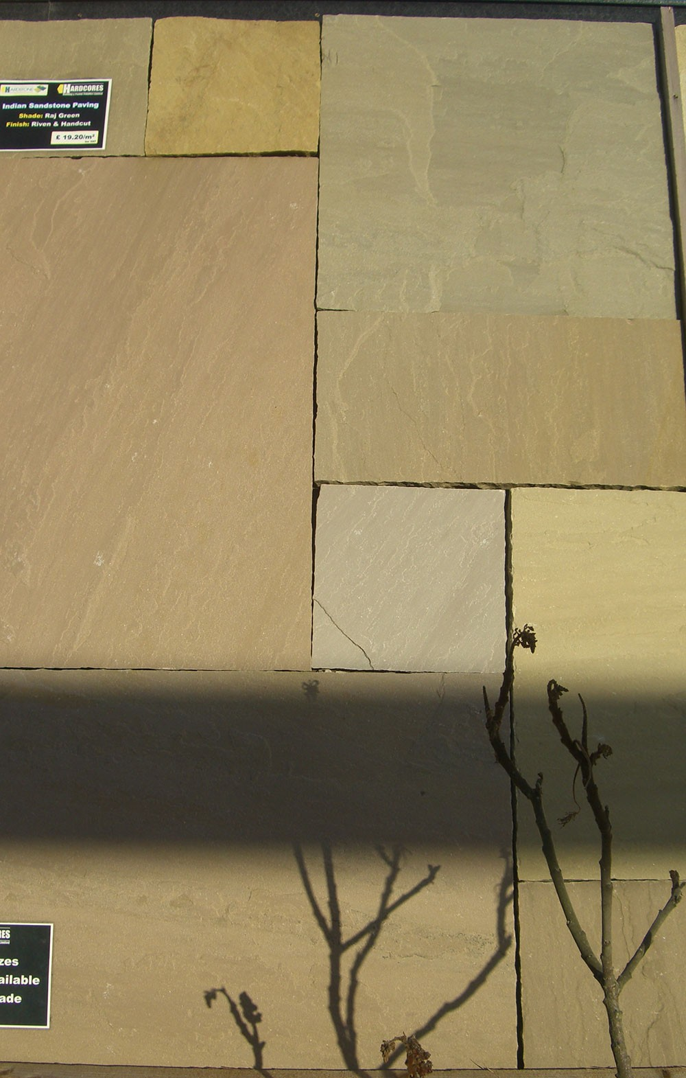 Hardstone - Indian Sandstone Paving - Raj Green