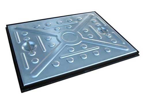 Manhole Covers - Pressed Steel Galvanised