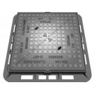 Manhole Covers - Ductile Iron Range Solid Top Single Seal - 600mm x 600mm - EN124 D400