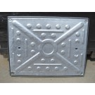 Manhole Covers - Pressed Steel Galvanised Double Seal - 600 x 450mm