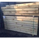 Large New Softwood Sleepers - Treated